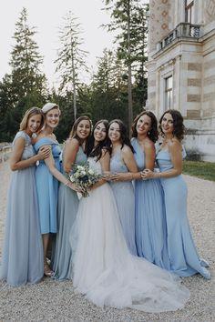 Braut und Brautjungfern - Hochzeit Wien - Bridesmaid Bridesmaid Dresses, Wedding Dresses, Fashion, Brides And Bridesmaids, Dress Wedding, Wedding Photography, Nice Asses, Bridesmade Dresses, Bride Dresses