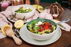 Avocado Koriander Nudel Bowl Superfood, Ethnic Recipes, Fresh Coriander, Chef Recipes, Cooking, Recipes