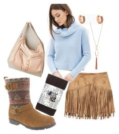 """A Tranquil Pallette for Rebecca"" by bearpawstyle on Polyvore featuring Forever 21, Botkier, women's clothing, women, female, woman, misses and juniors"