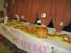 Festa di compleanno per bambina