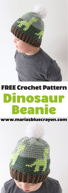 Scroll down for the Free Crochet Dinosaur Hat Pattern for kids! Whew! Can I just start by saying this crochet hat was a doozy for me ...