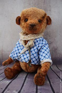 """Мишка Тедди """"Мишенька"""" - коричневый, мишка тедди, мишка, мишка ручной работы"""
