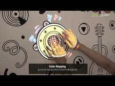 [PLAYDODO] Music Playing Wall : Projection Mapping, Conductive Ink, Interacitve Art - YouTube