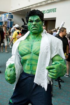 Cosplay Costumes at San Diego Comic Con 2009: The Incredible Hulk