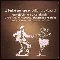 Bailar!!! #beneficios #danza #movimiento