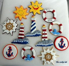 Summer Nautical Theme - The Cookie Lab