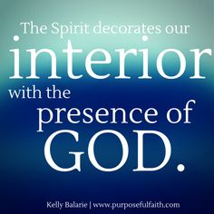 Relying On The Spirit & Weekly Encouragement Video - Purposeful Faith