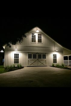 From Fixer Upper's Magnolia Farms - this has to be THE perfect barn!