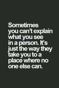 it is all so complicated.. shouldnt it be just the one person you love who should take u places...