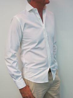 Camisa popelin blanca Upper