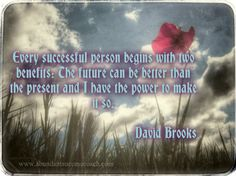 David Brooks, successful