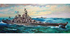 Tamiya - Battleship Missouri 1:350