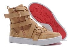 Christian Louboutin Mens Spacer Flat Sneaker Apricot $108.80