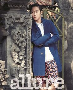 Jung Woo In Bali For Allure Korea's March 2014 Issue