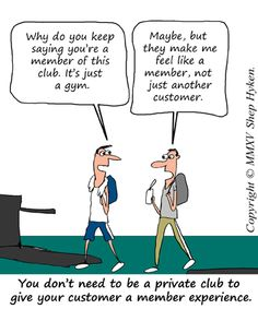 One of my favorite strategies in customer service is the membership experience. And, you don't have to be an exclusive or private club to create that membership experience for your customers.