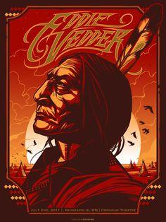 Eddie Vedder Orpheum Theatre