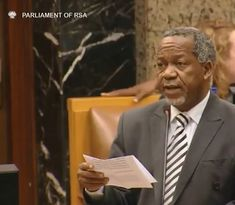 """""""Be bold and fight corruption Mr President!"""" ACDP President Kenneth Meshoe   22 May 2019 National Assembly    On Wednesday ACDP President Rev Kenneth Meshoe MP called on the newly elected Speaker of the National Assembly Ms Thandi Modise to ensure that the House was run with order and dignity during the 6th Parliament. He also congratulated Mr Cyril Ramaphosa on his election as South African president and encouraged him to be tough on corruption to be bold to act and not to fear man.   Watch…"""