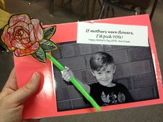 Mother's Day idea for my students 2013