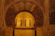 Kurtuba Camii mihrabı. İspanya.
