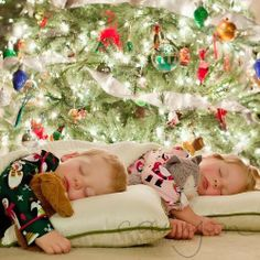 Waiting for Santa to come......