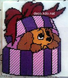 Disney Lady hama perler beads by deco.kdo.nat