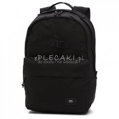 Plecak młodzieżowy VANS MN OLD SKOOL TRAVEL Black czarny na laptop Vans, Laptop, Backpacks, Black, Fashion, Moda, Black People, Fashion Styles, Van