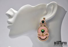Soutache; earrings