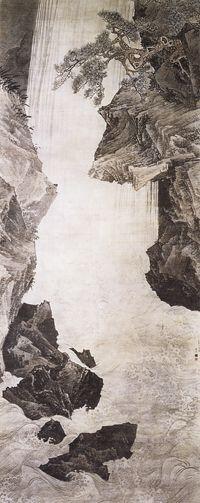 円山応挙 Oukyo Maruyama『大瀑布図』(1772・京都相国寺蔵)