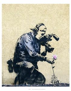Banksy is an England-based graffiti artist, political activist, film director, and painter. His satirical form of street art and subversive epigrams combine irreverent dark humor with graffiti done in a distinctive stenciling technique. 3d Street Art, Street Art Banksy, Street Art Utopia, Amazing Street Art, Street Artists, Street Art Quotes, Wall Street, Banksy Graffiti, Graffiti Artwork