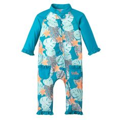 These baby girl swimsuits are made from silky soft stretch knit microfiber that wraps baby in comfort and sun protection. Buy baby UV swimsuits at UV Skinz.