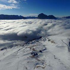 #adlerdolomiti #adlersparesorts #valgardenafriends #seceda #baitasofie #clouds? #trekkingthad sopra le nuvole