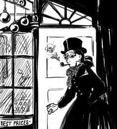 The Thrilling Adventures of Lovelace and Babbage is a steam punk online comic written and drawn by Sydney Padua. Set in London of the mid-19th century Padua creates a highly whimsical world of real historical figures who do amazingly non-historical (well semi-historical) things, like create giant computers and fight street musicians. Plus each comic comes with historical footnotes.
