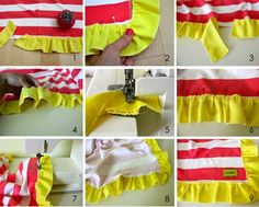 TUTORIAL: Ruffle Blanket from MADE...cute and easy if you have a serger but still able to do if not!