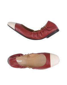 BALLY Ballet Flats. #bally #shoes #ballet flats