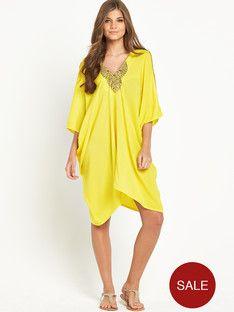 resort-embellished-batwing-dress