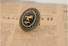 Fashion Vintage Leopard Ring on BuyTrends.com, only price $3.60