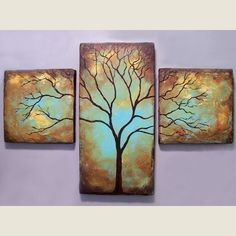 EarthArt on Etsy Welcome to Contemporary Earth Art Gallery - Stylehive Abstract Tree Painting, Rustic Art, Painting Inspiration, Diy Art, Art Projects, Canvas Art, Canvas Paintings, Arts And Crafts, Artsy