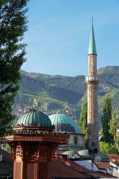 "ottoman-empire: "" Başçarşı - Saraybosna - Bosna Hersek """