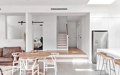 Decor Interior Design, Interior Decorating, Kitchen Island Decor, Staircase Design, Dream Decor, Cool Rooms, Minimalist Home, Home Renovation, Interior Architecture
