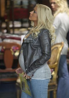 Jeans, tee, moto jacket: available gently used or new   for less than $30 at MotherhoodCloset.com