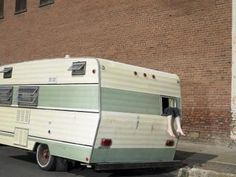 How to Paint an Old Camper