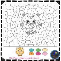 Color By Number Free Printable Coloring Pages, from Printable Color by Number category. Find out more coloring sheets here. Jungle Coloring Pages, Coloring Pages Nature, Wedding Coloring Pages, School Coloring Pages, Princess Coloring Pages, Coloring Book Pages, Coloring Pages For Kids, Coloring Sheets, Kids Coloring