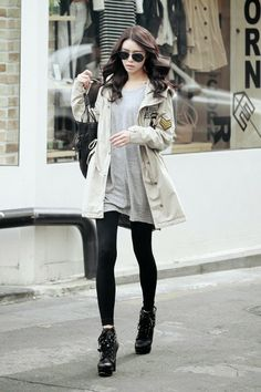 Sexy Korean Fashion & Clothing For Winter 2014
