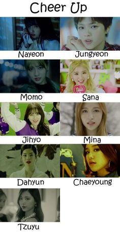 twice cheer up Mamamoo, Kpop Girl Groups, Korean Girl Groups, Kpop Girls, Nayeon, K Pop, Twice Names, Twice Mv, Twice Group