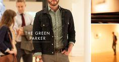 The Green Parker - Short Run Shirting Lookbook at First Fridays Art Walk: October 2012
