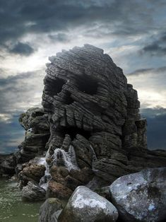 Skull rock----where the pirates like to drop anchor when not searching for Peter.