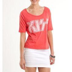Kiss live nation shirt Size XL kiss shirt worn once Tops Tees - Short Sleeve