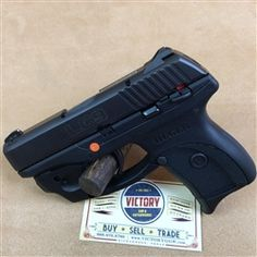This is a factory new Ruger LC9 with integral Laser Max centerfire laser. This pistol is one of the best in concealed carry options for self-defense.