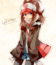 Image about girl in Pokemon by Chelinka on We Heart It Pokémon Female Trainer Pokemon Oc, Pokemon Fan Art, Pokemon World, Pokemon Hilda, Touko Pokemon, Black Pokemon, Pokemon Trainer Outfits, Female Pokemon Trainers, Pokemon Game Characters