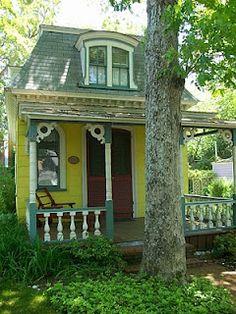 Victorian gingerbread cottage, Oak Bluffs, Martha's Vineyard